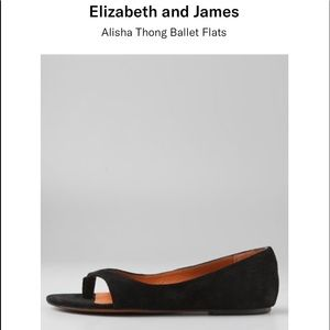 ELIZABETH AND JAMES Alisha Thong Ballet Flats 10